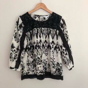 CAbi Madrid Limited Edition Blouse Top